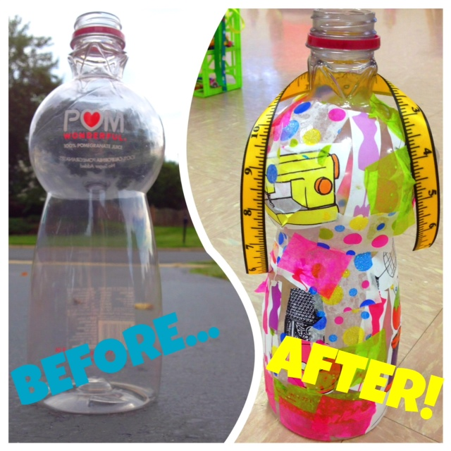 Turn A Pomegranate Juice Bottle Into An 18 Doll Fashion Dress Form
