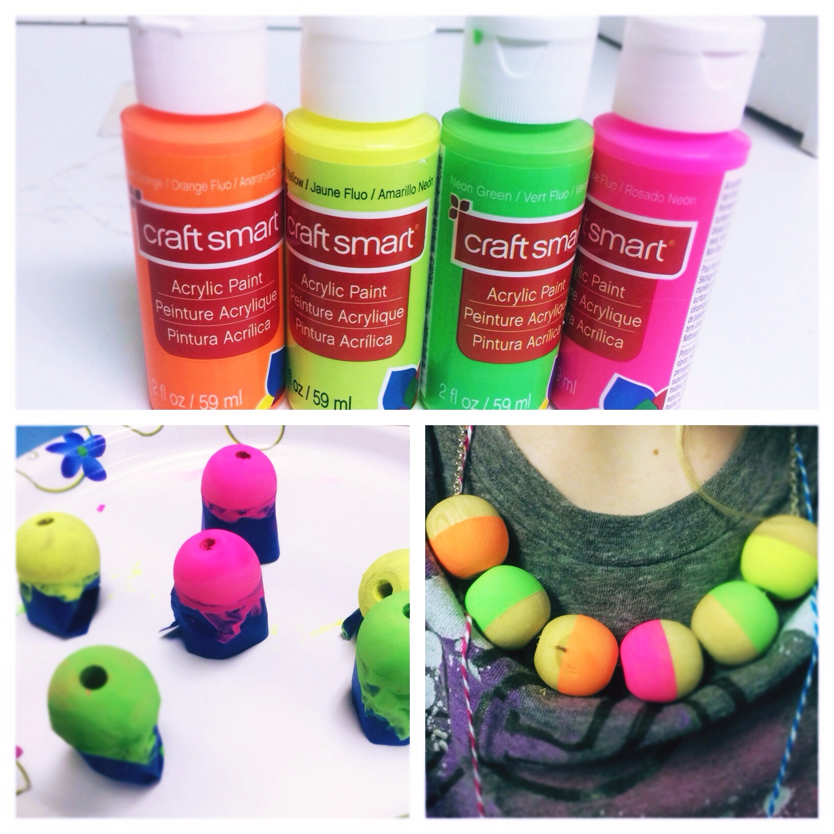 Girls Neon Jewelry Craft Idea Great For Girl Scout Jeweler Junior