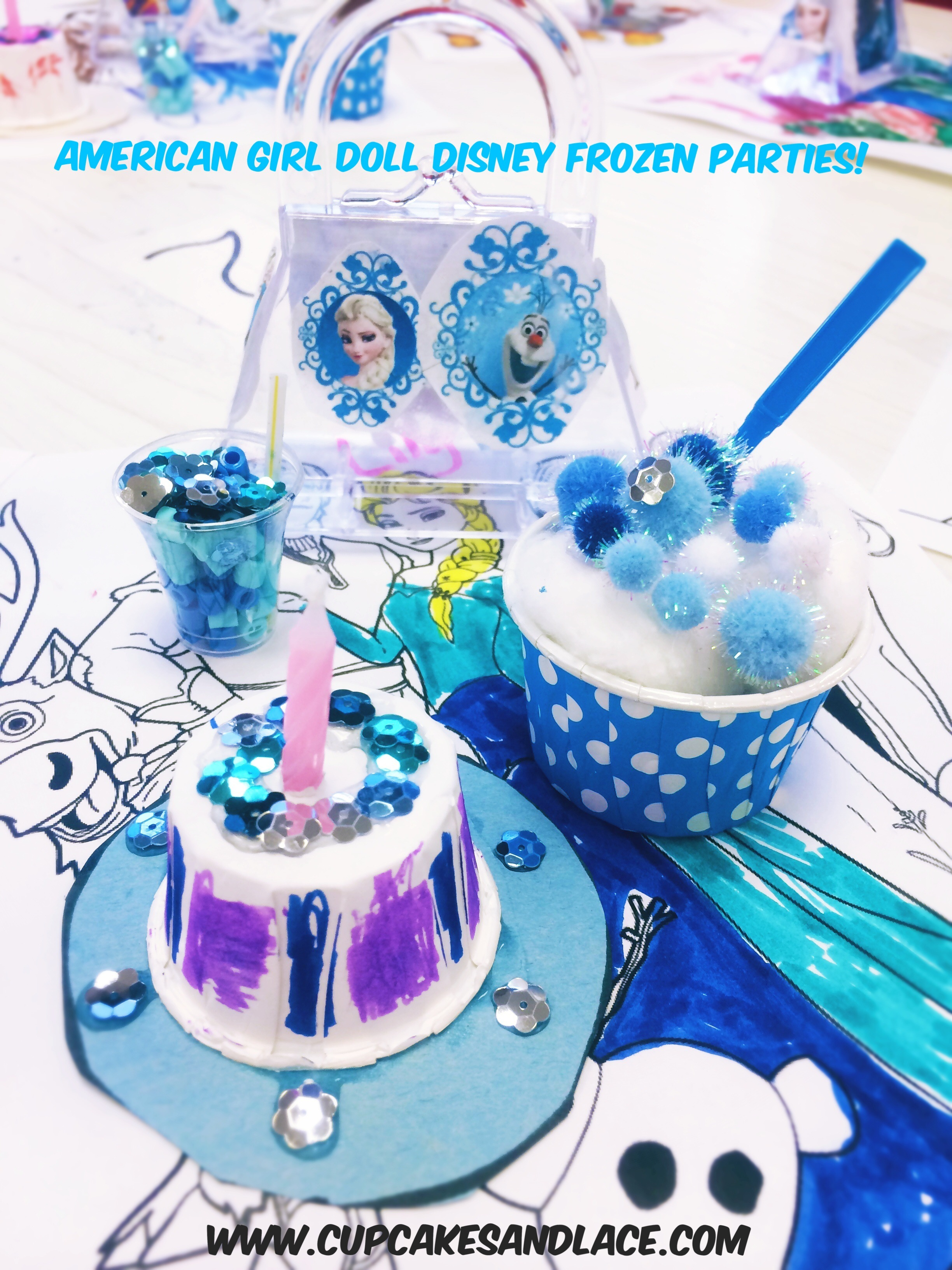 Northern Virginia Crafting Birthday Parties New 18 Doll Disney Frozen Inspired Party