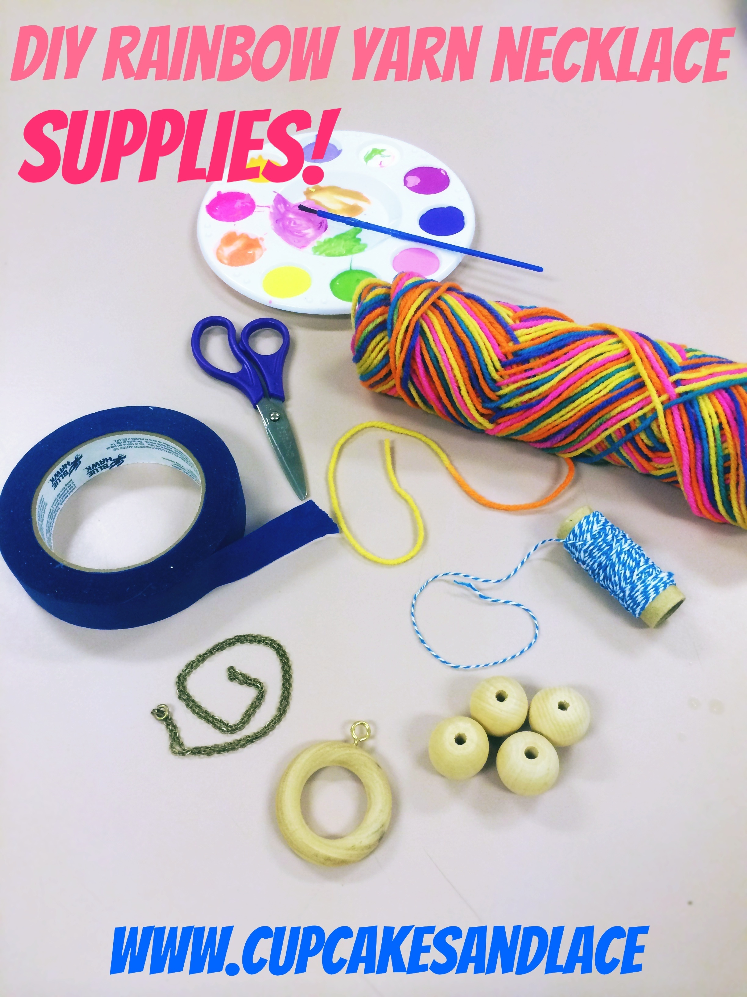 Cupcakes and lace diy girls rainbow neon jewelry girl scout cupcakesandlace solutioingenieria Images