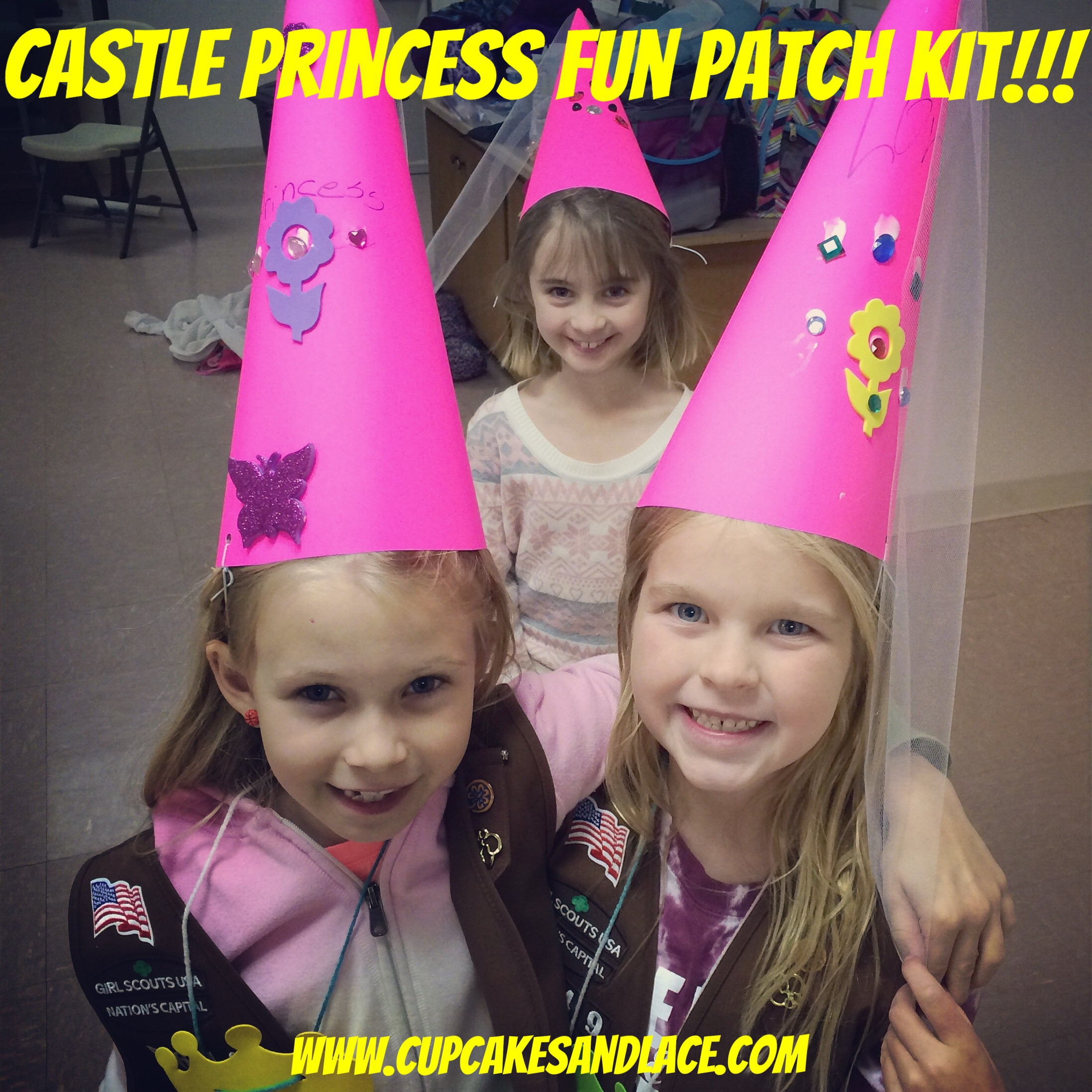 cupcakes and lace » castle princess fun patch-girl scout badge