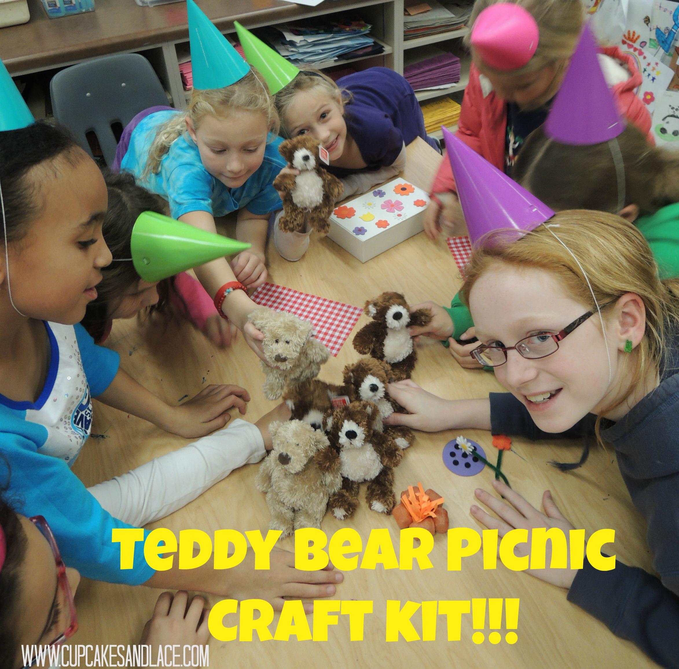 Teddy Bear Picnic Crafting Kit Fun Birthday Party Craft