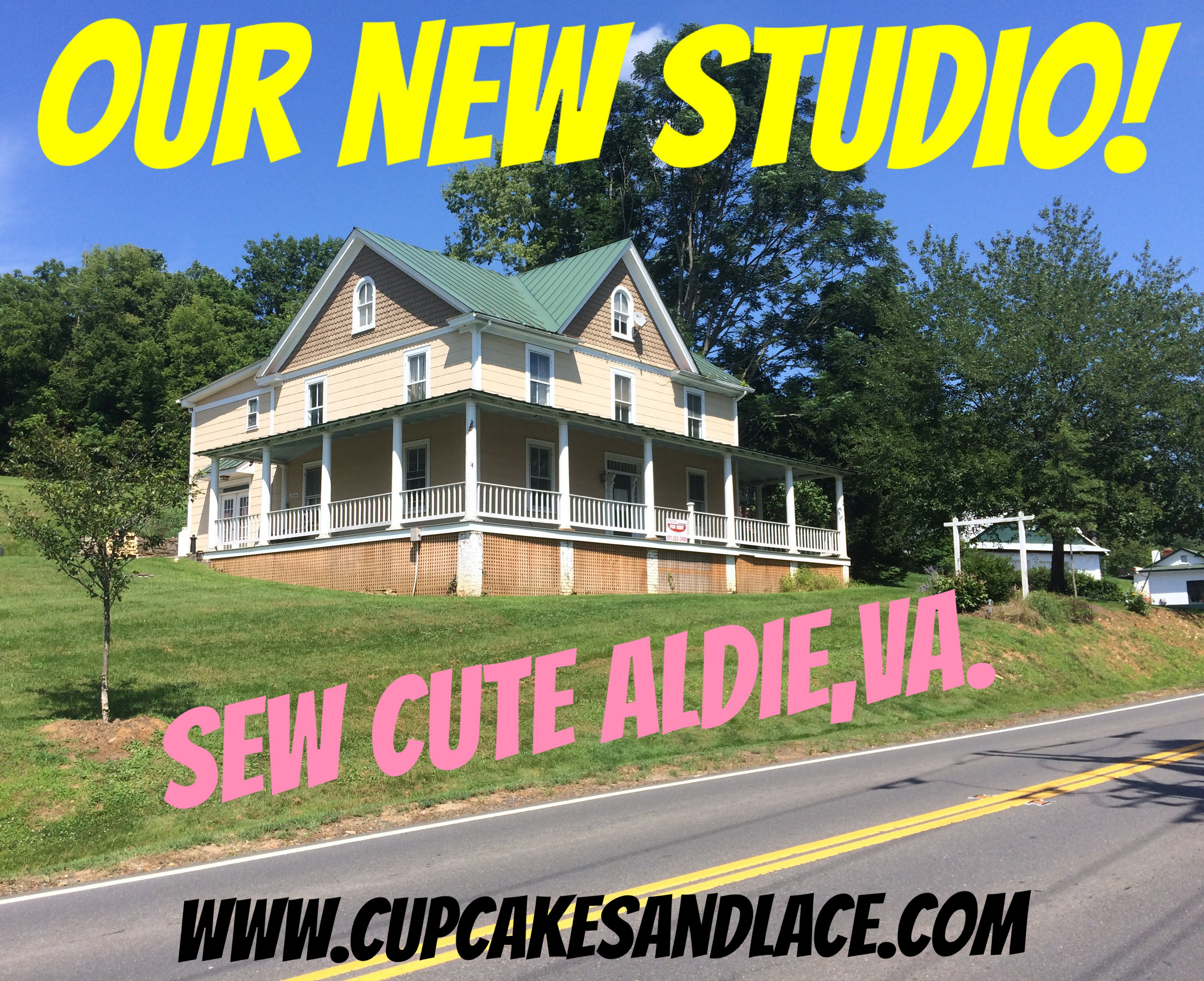 We Are Moving Kids Sewing Studio In Historic Aldie Virginia Crafting Girl Scout Classes Camps Birthday Parties Northern